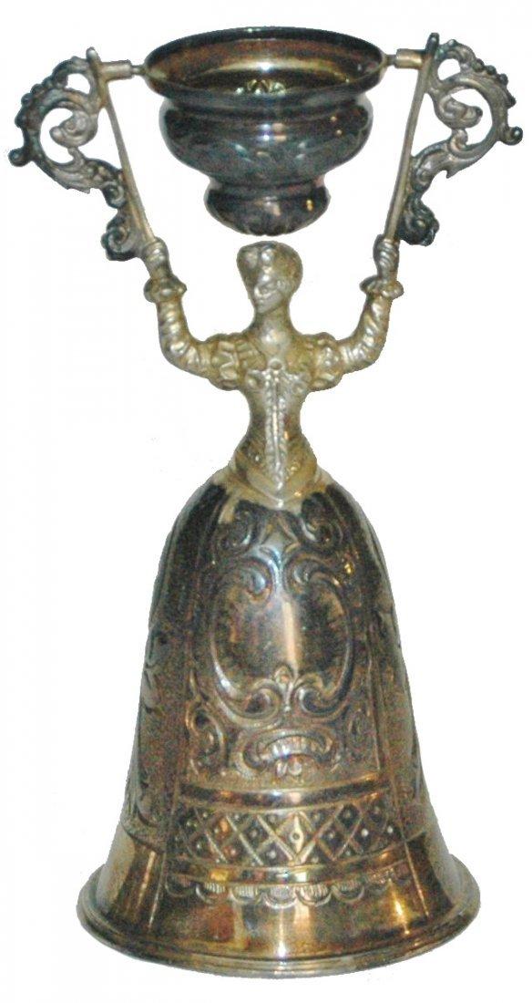 Sterling Silver Wedding Beaker