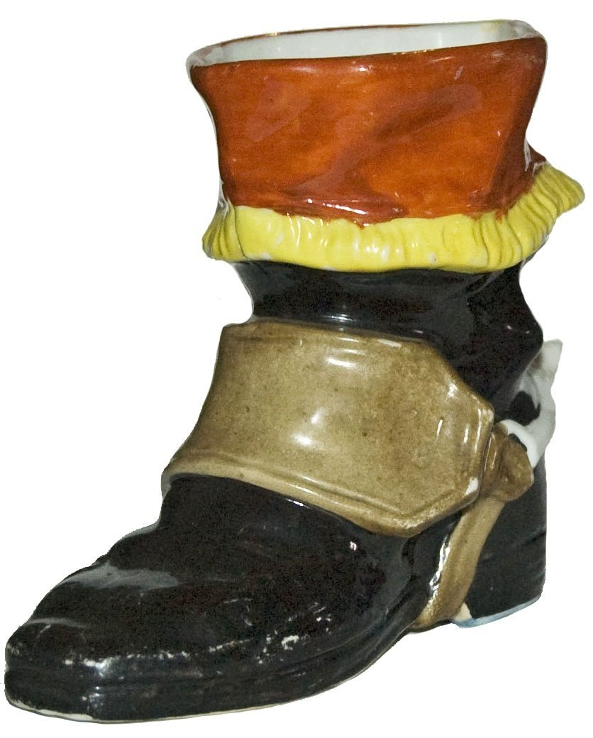 Porcelain Character Boot