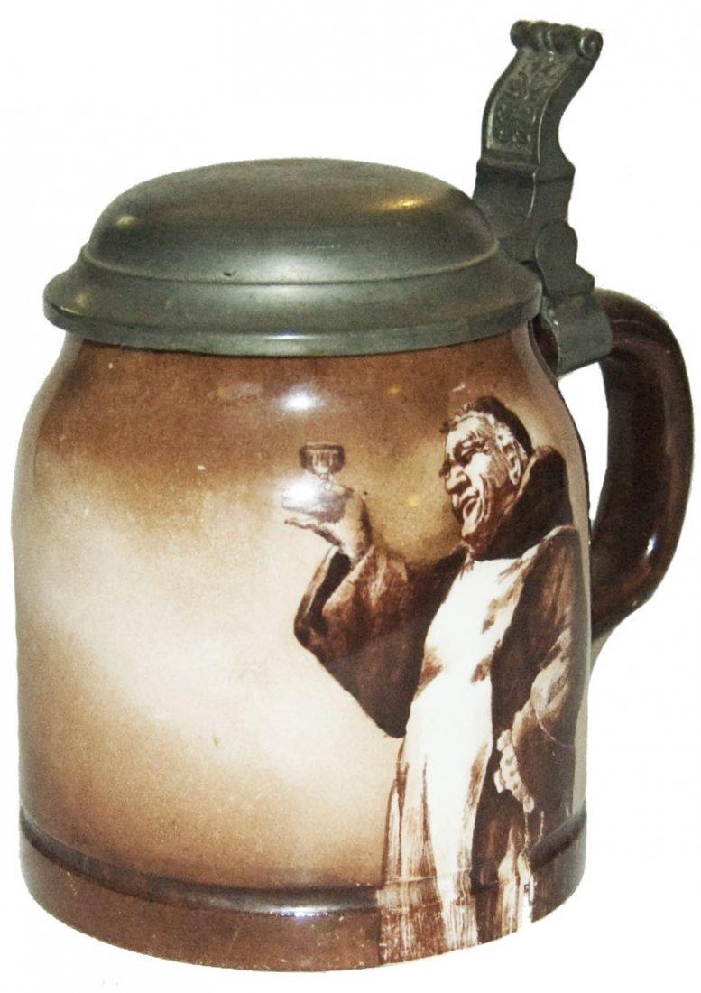 American Made Monk w Wine Goblet Stein