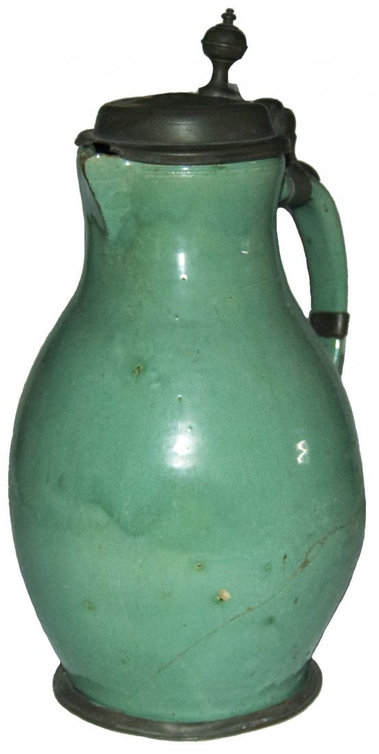 3L Bunzlau circa 1780 Hafnerware Stein