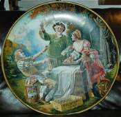 "Tin Litho 24"" Lemp St Louis Brewery Plaque"