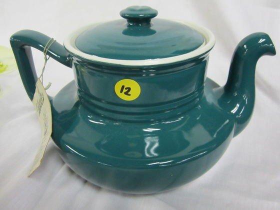 12: Hall Coffelator Coffee Pot Emerald Green with Origi