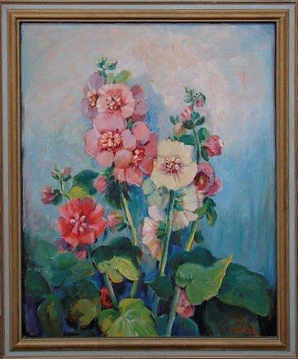 7: Francesco Spicuzza Oil Floral