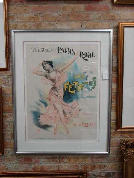 16: PAL de Paleologue Theatre Fetards Poster Ca 1890