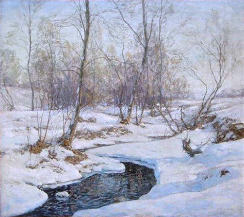 17: Wilson Henry Irvine Oil Painting
