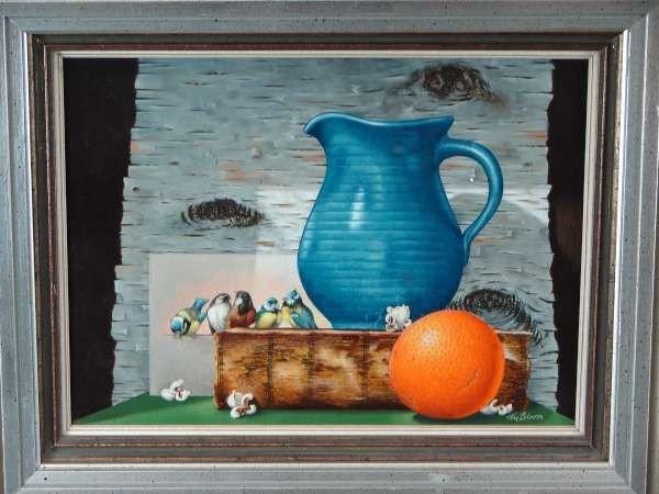 18: William Bloom Oil Painting