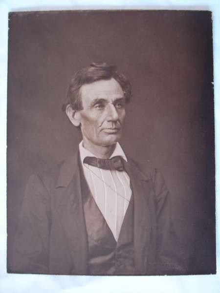 20: Ayres Photograph Abraham Lincoln