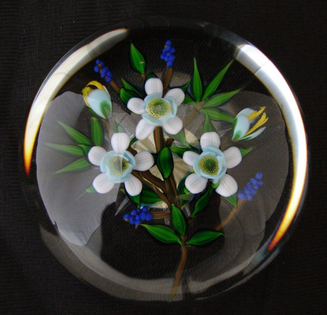 20: Debbie Tarsitano Paperweight 1982 Flowers