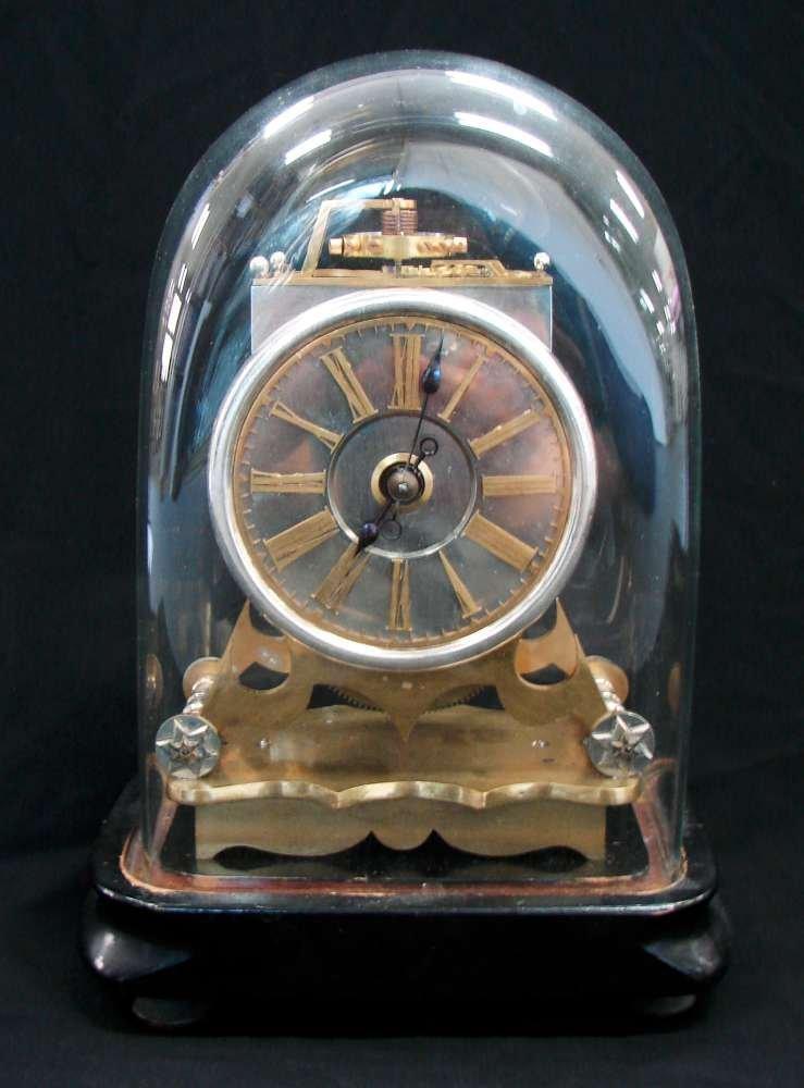 4: Antique Brass Clock