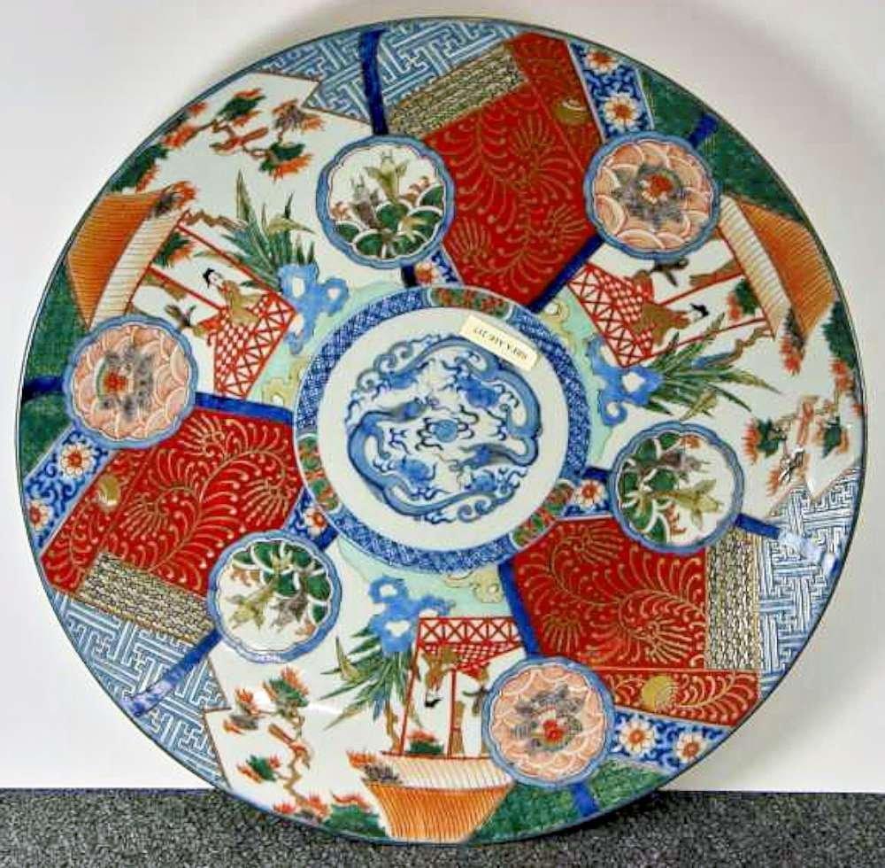 10: Ca 1900 Japanese Imari Charger