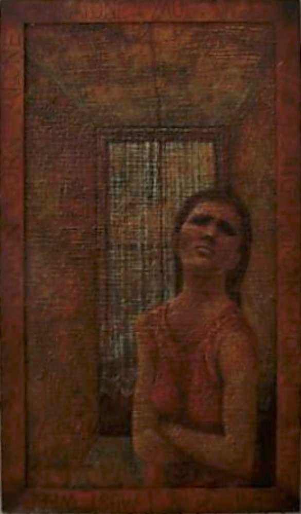 13: Doris Christofle Wokurka Oil Painting Untitled