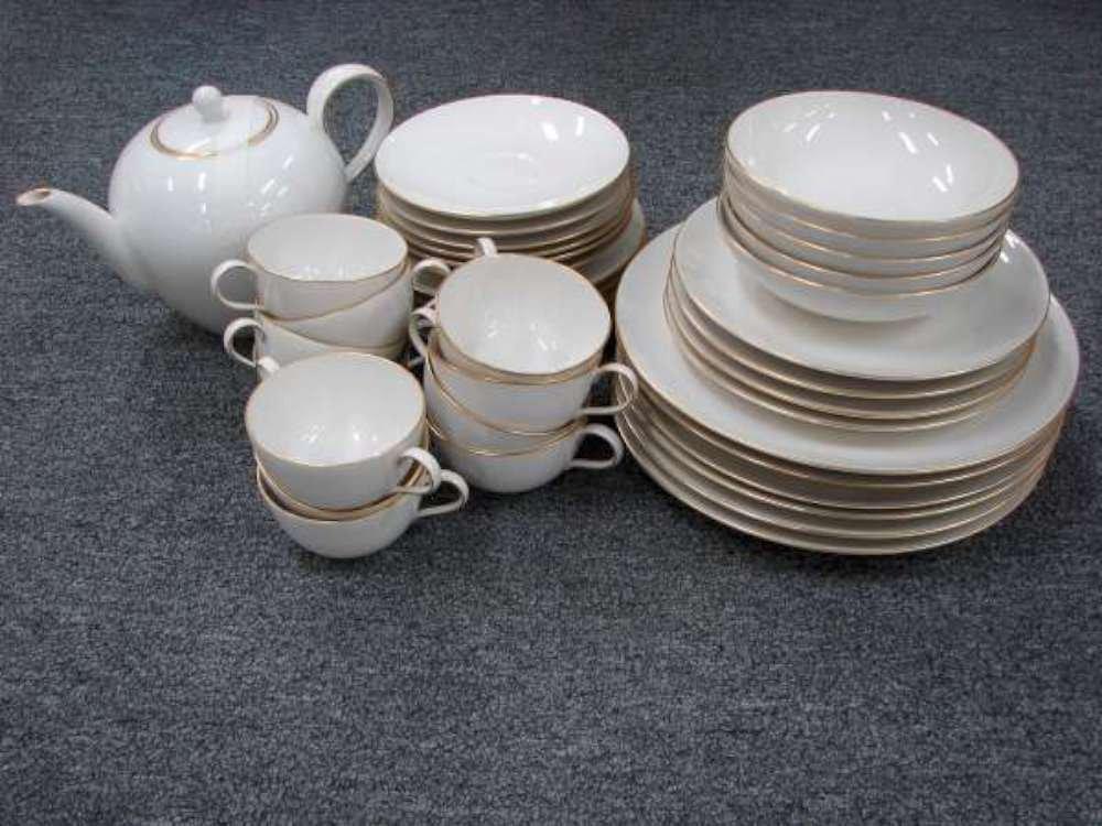 16: 49 Piece Set KPM Royal Berlin Urbino Gold Porcelain