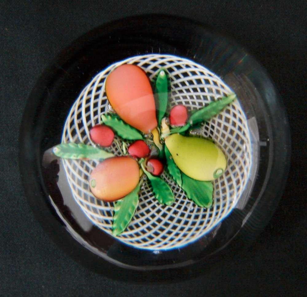 23: Saint Louis Antique Paperweight c. 1860 Fruit