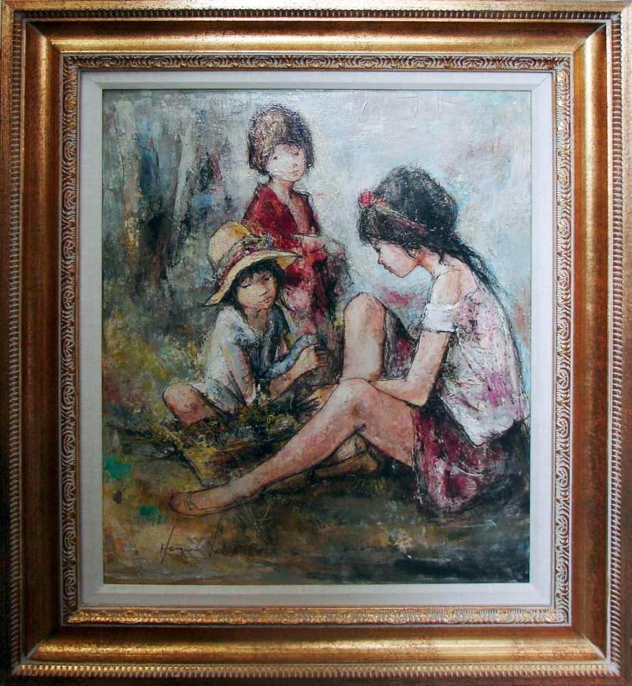 148: Original Jacques Lalande Oil Painting