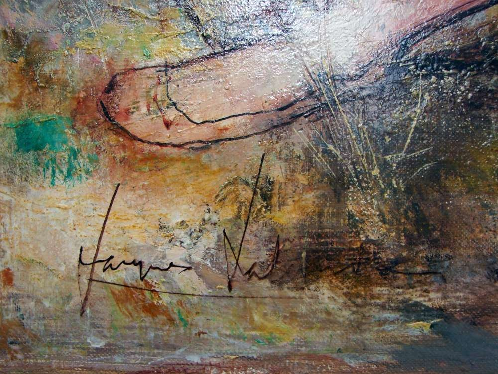 148: Original Jacques Lalande Oil Painting - 2