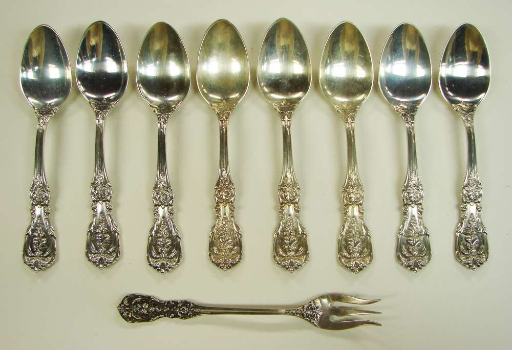 4: 9 Sterling Silver Reed Barton Francis I Items