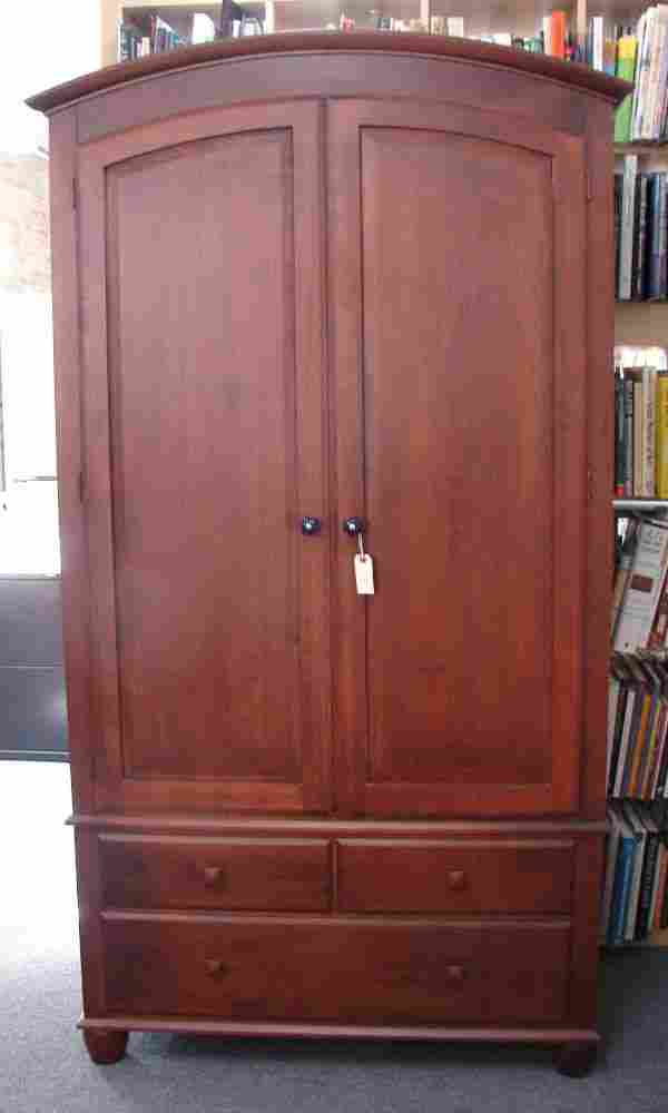 Armoire Cabinet Ethan Allen Cherry Country Crossing