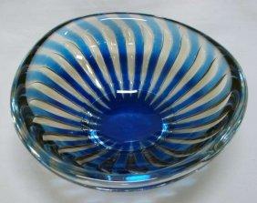 83: Orrefors Ariel Glass Bowl