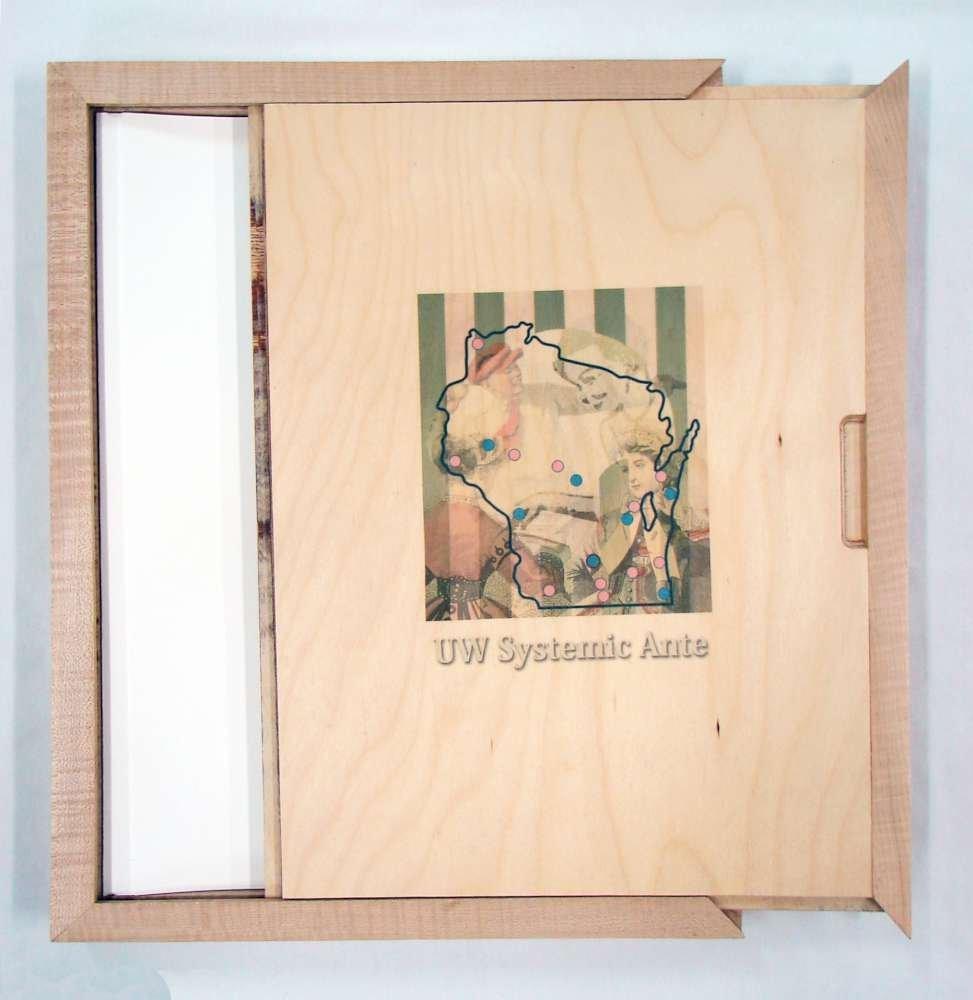 Print Folio Boxed WISCONSIN 17 ORIGINAL Systemic Ante 2