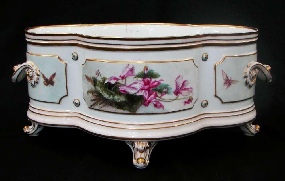 19th Century Hand Painted KPM Royal Berlin Porcelain Ce