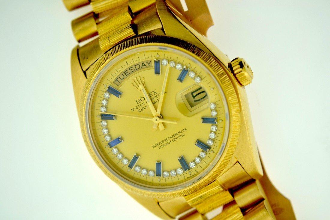 Gentleman's 18kt Gold Rolex