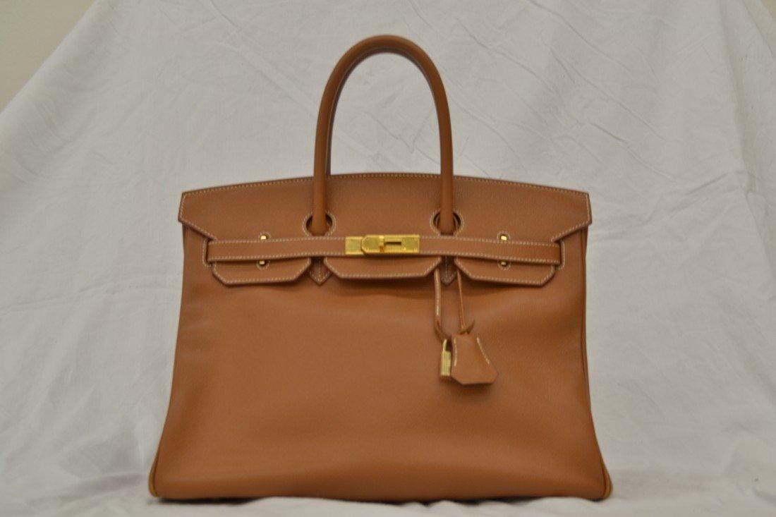 Authentic Hermes Birkin Handbag