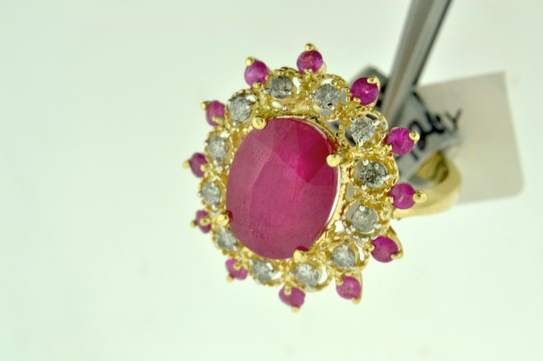 Ruby and Diamond Ring Appraised Value: $14,044