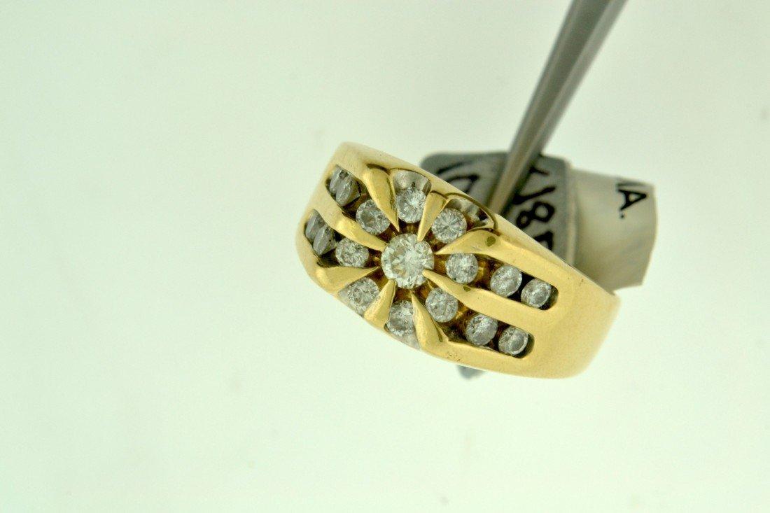 Men's Diamond Ring Appraised Value: 5,400