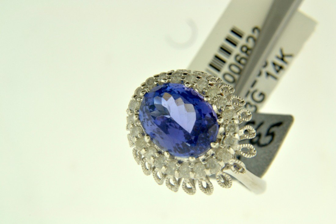 Tanzanite and Diamond Ring Appraised value: $10,750
