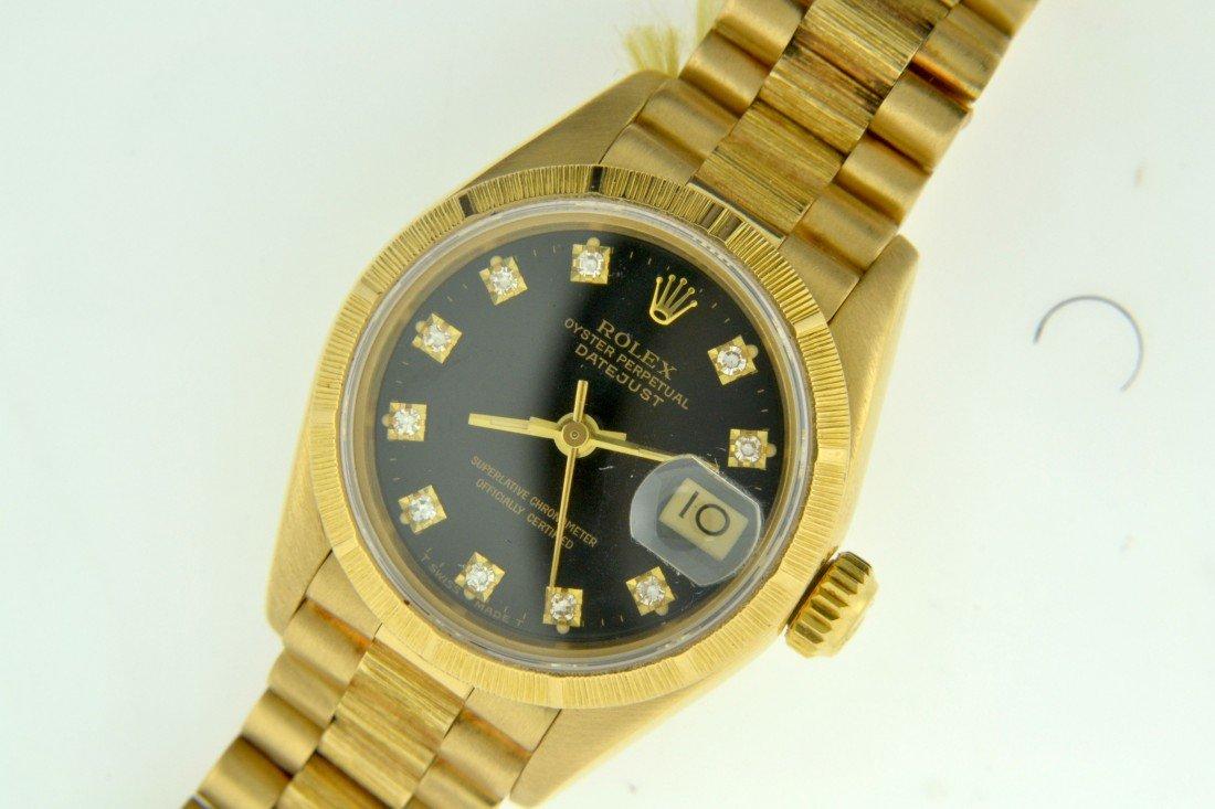Ladies President DateJust Rolex Appraised Value: $19,99