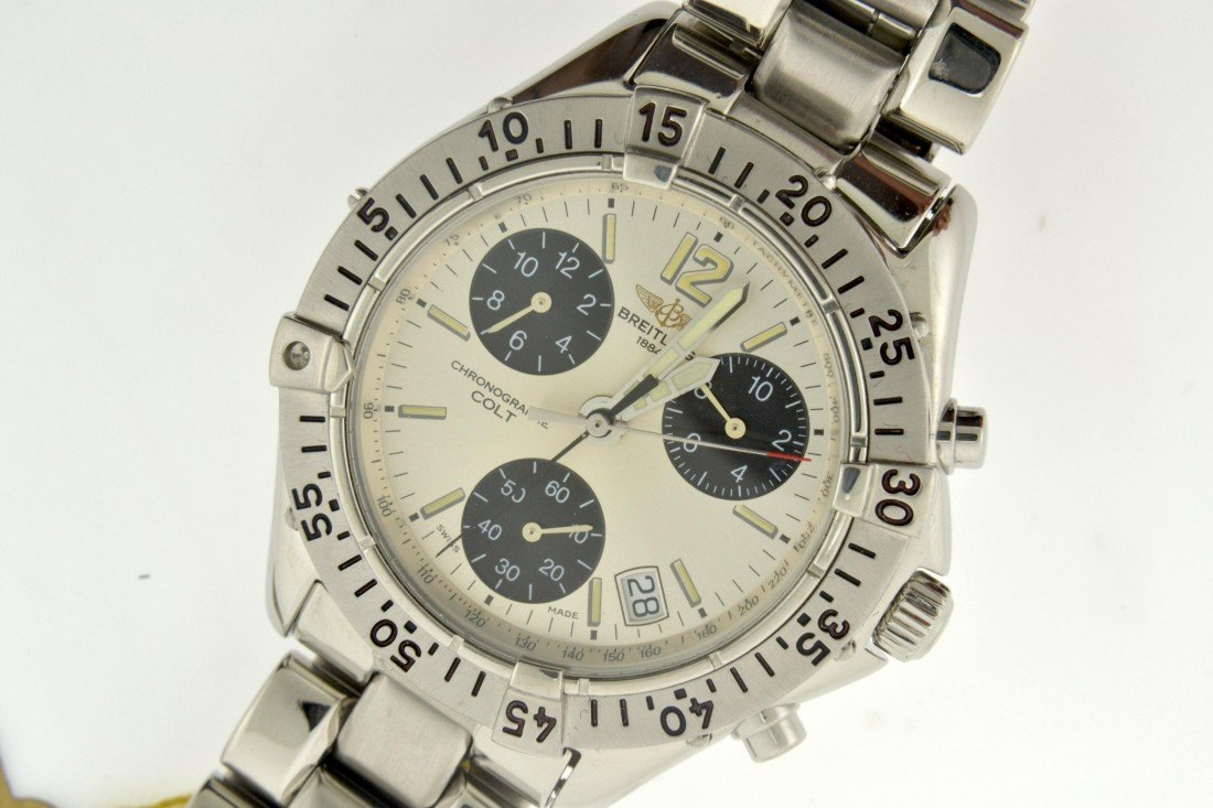 Breitling Colt Watch Appraised Value: $3,100