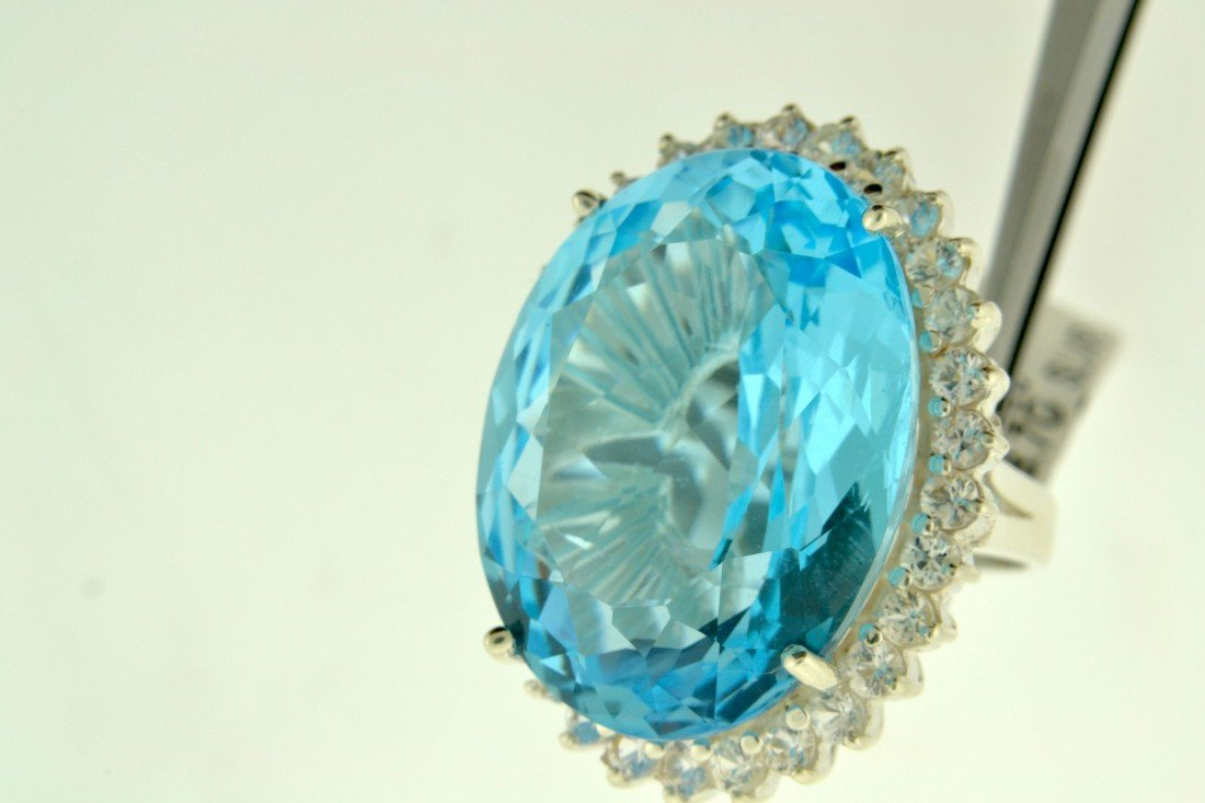 Topaz Ring Appraised Value: $6,158