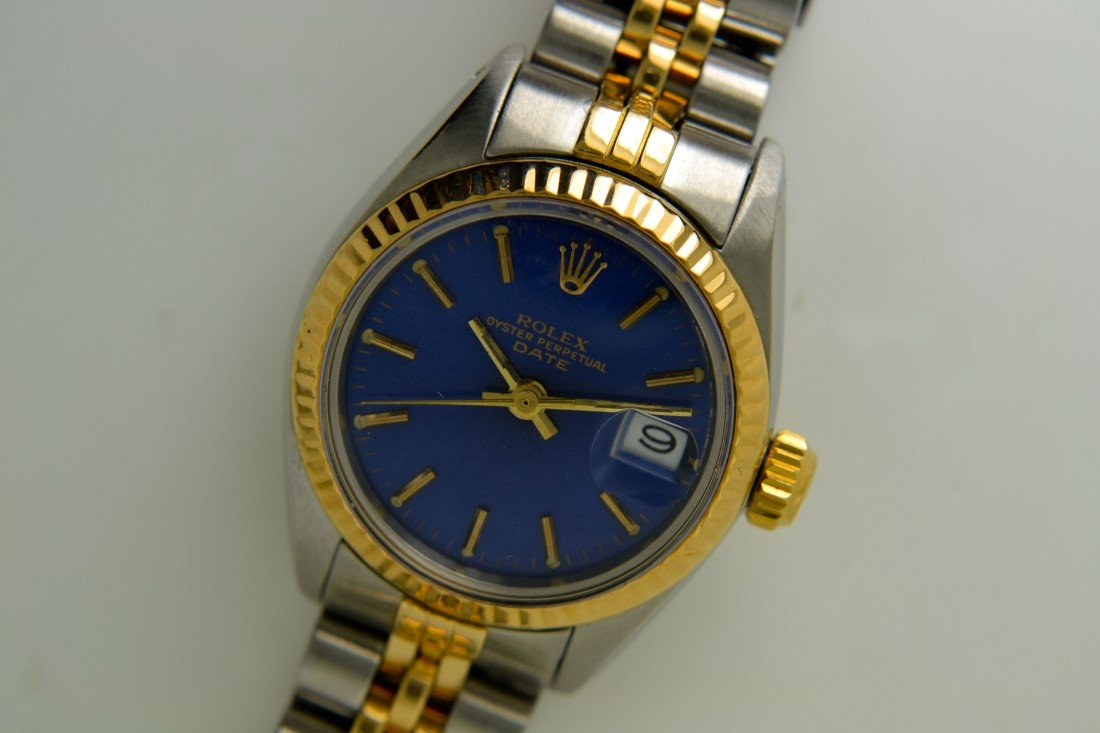 Lady Rolex Two-Tone Wristwatch Appraised Value: $6,250
