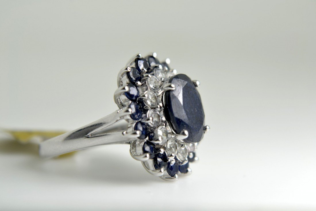 Sapphire Ring Appraised Value: $6869