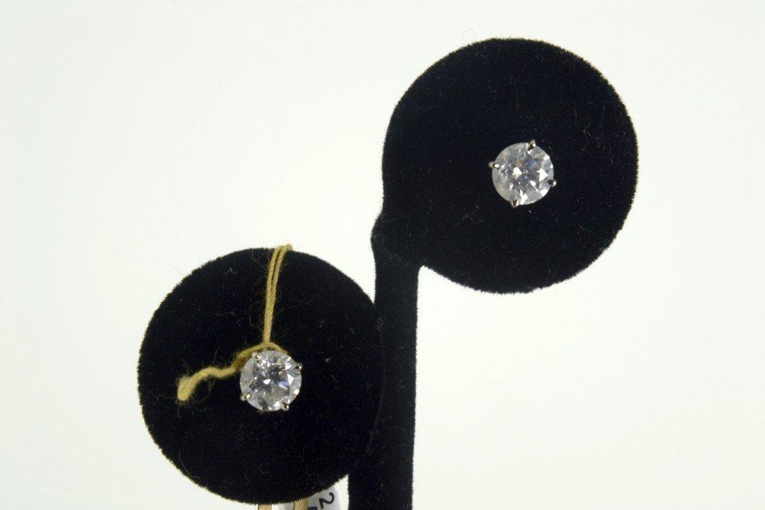 Diamond earrings Appraised Value: $17880