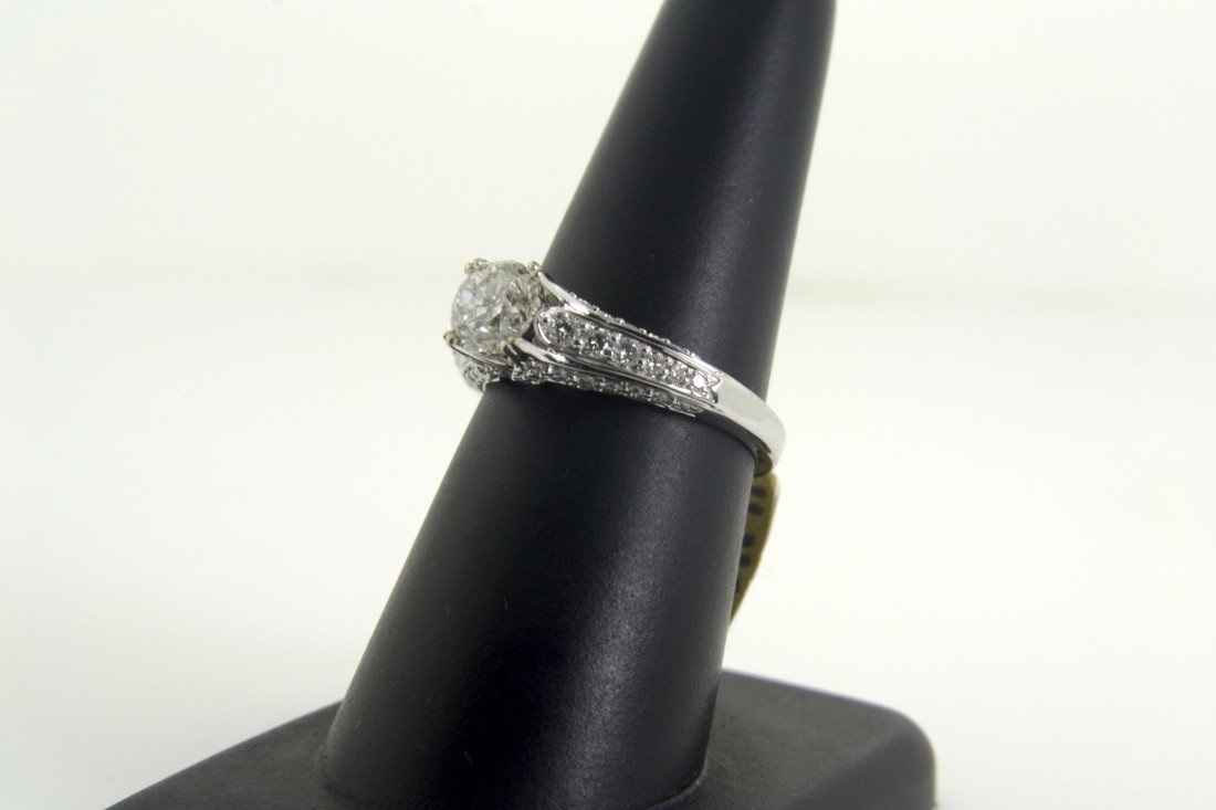 Diamond ring Appraised Value: $20880
