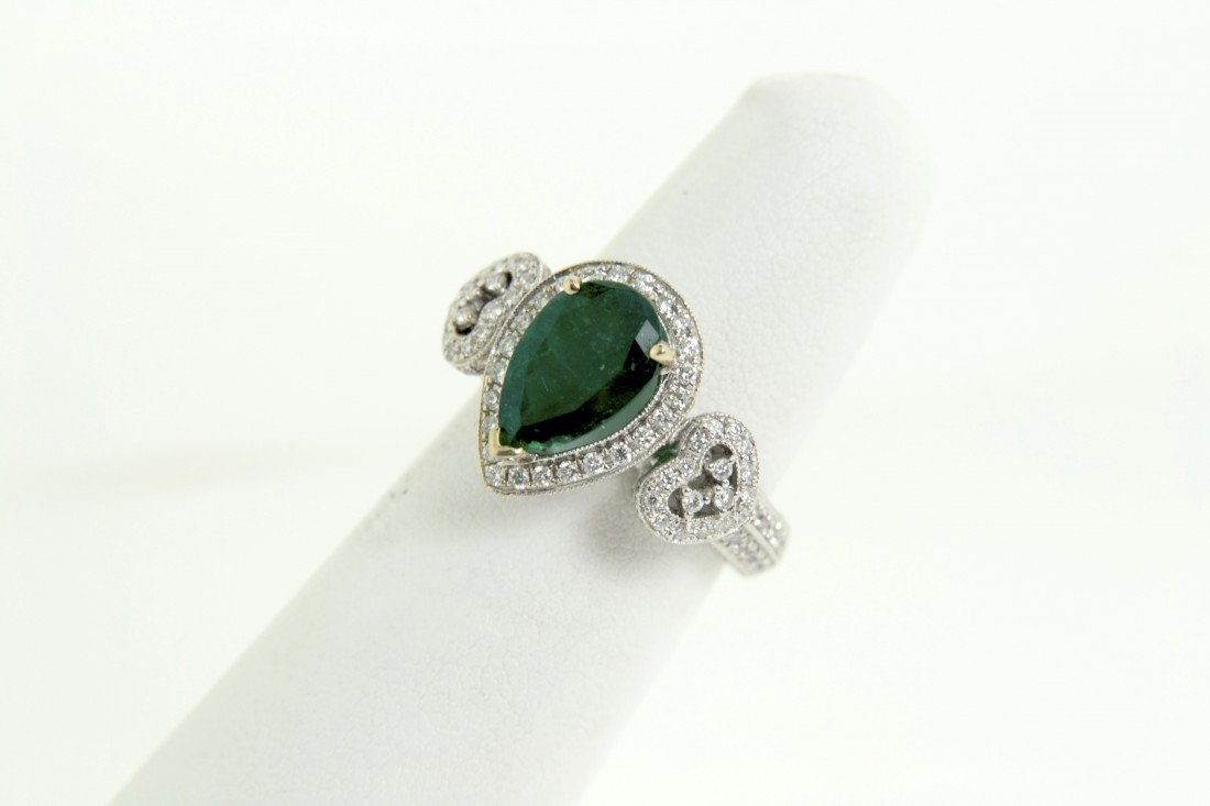Emerald and Diamond Ring Appraised Value: $8830
