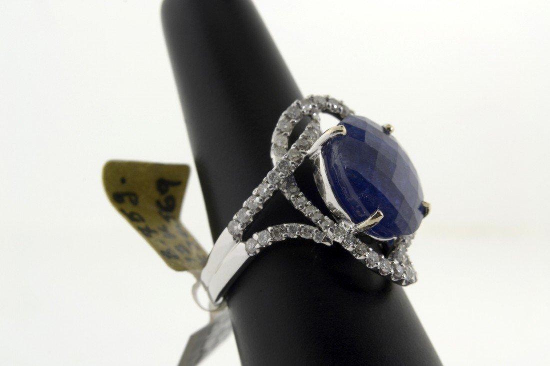 Tanzanite and Diamond Ring  Appraised Value: $12,098