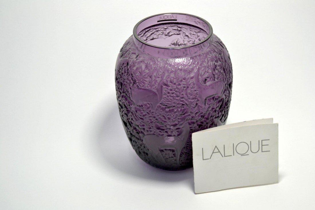 Genuine Lalique Vase