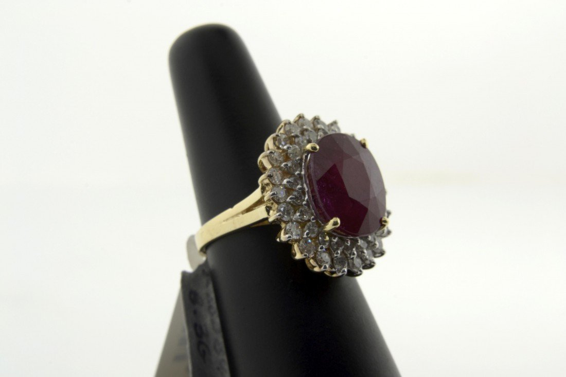 Ruby and Diamond Ring  Appraised Value: $21,375