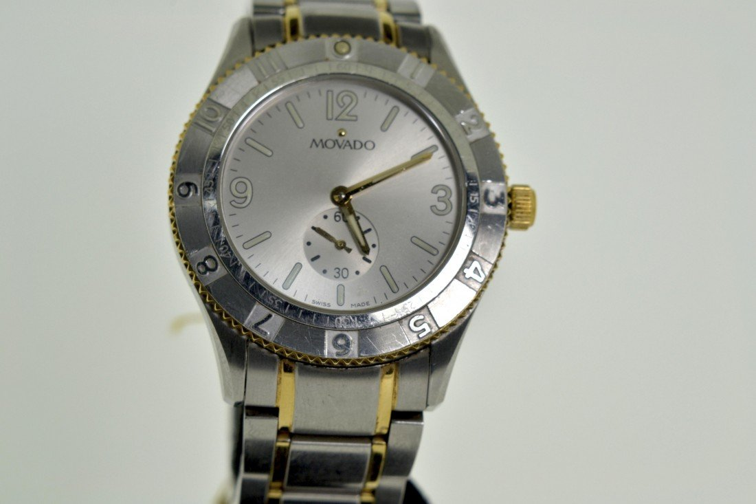 Original 2-tone Movado Watch