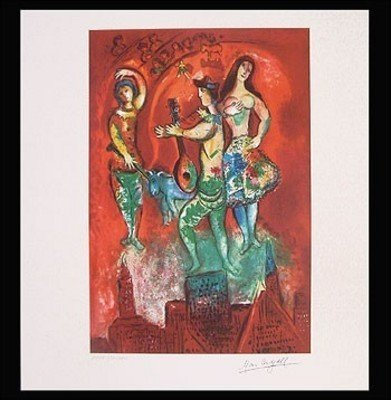Marc Chagall Giclee of CARMEN with COA