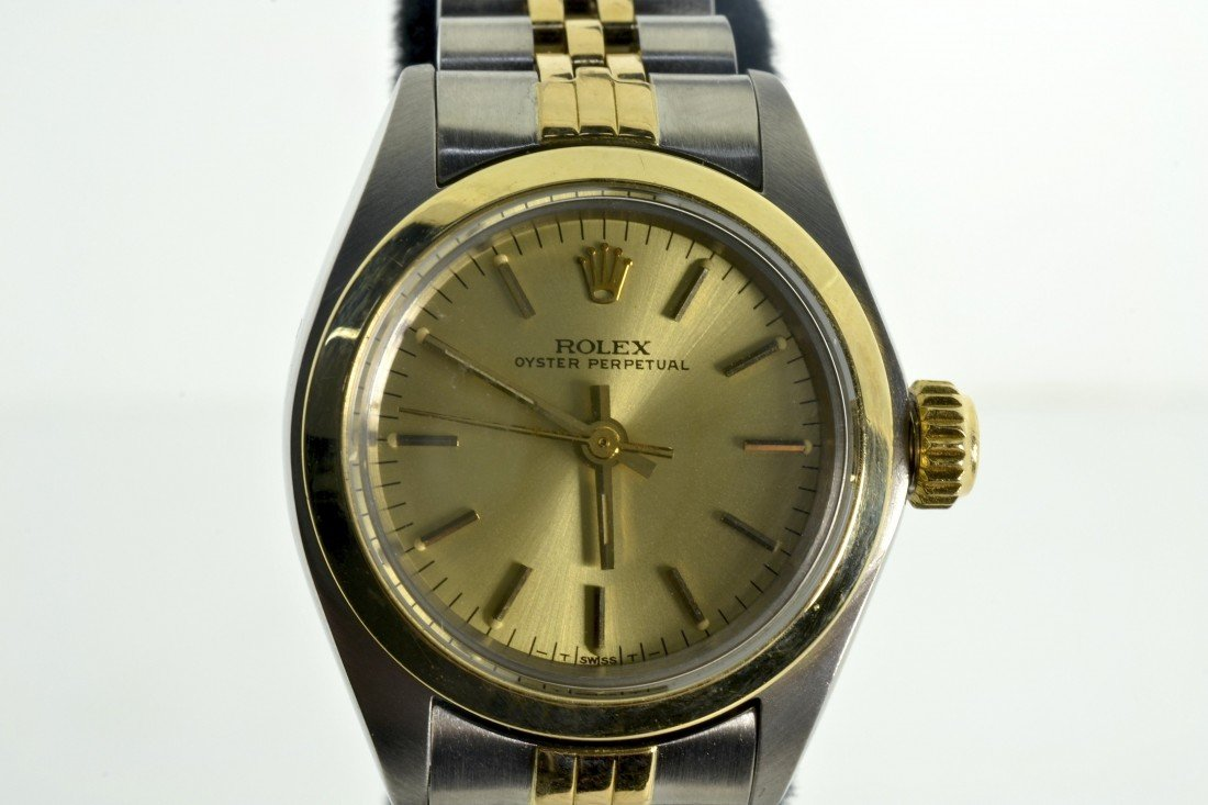 Ladies Rolex Oyster Perpetual Watch