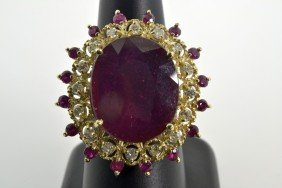 Ruby Ring Appraised Value: $13,942