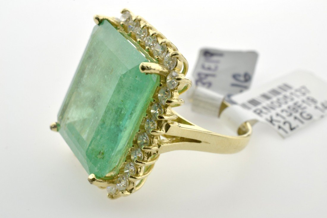 Emerald and Diamond Ring Appraised Value: $43,000