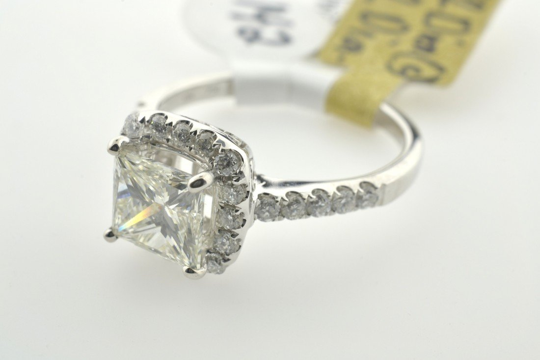 Diamond Ring Appraised Value: $14,590