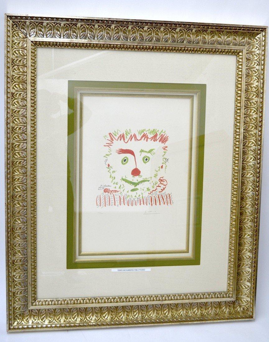 """Pablo Picasso's """"Le Clown"""" Art"""