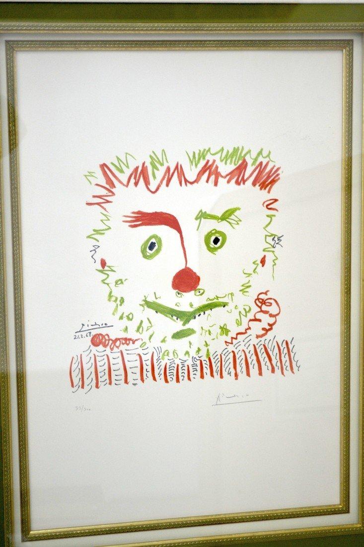 """Pablo Picasso's """"Le Clown"""" Art - 3"""