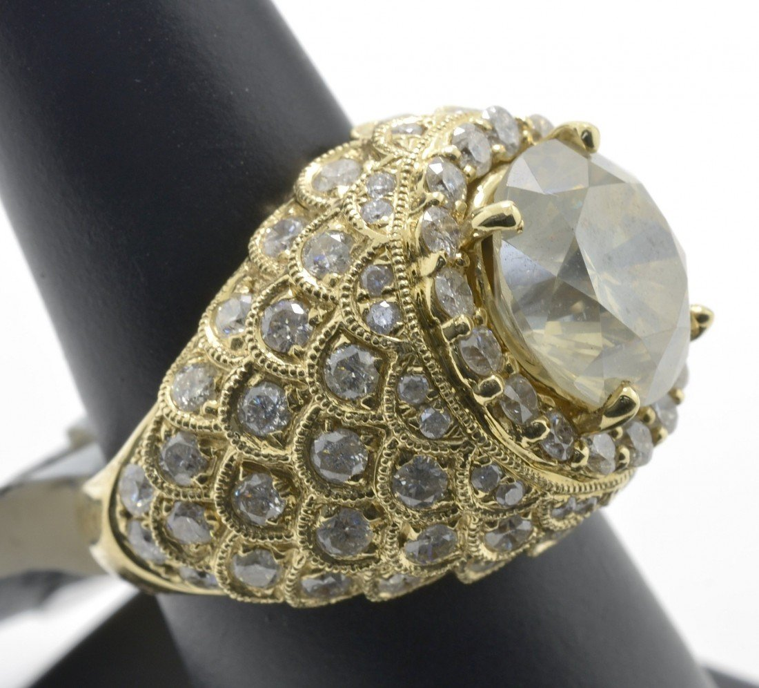 Diamond Dome Ring Appraised Value: $67,100