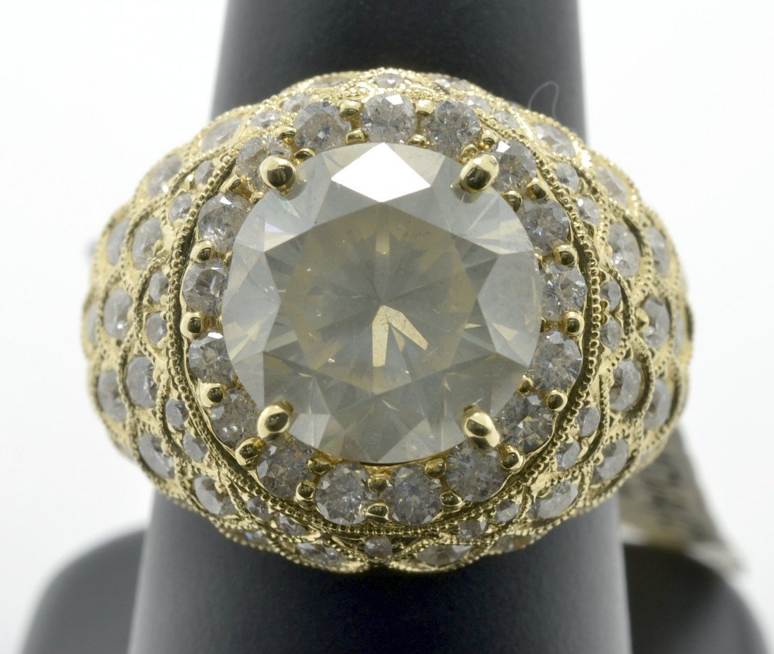 Diamond Dome Ring Appraised Value: $67,100 - 3